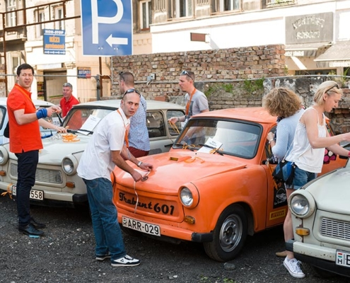 Un tour en Trabant pour votre activité Team Building