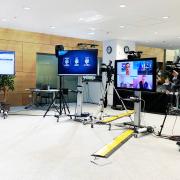 Plateau Tv pour diffusion d'un événement en ligne
